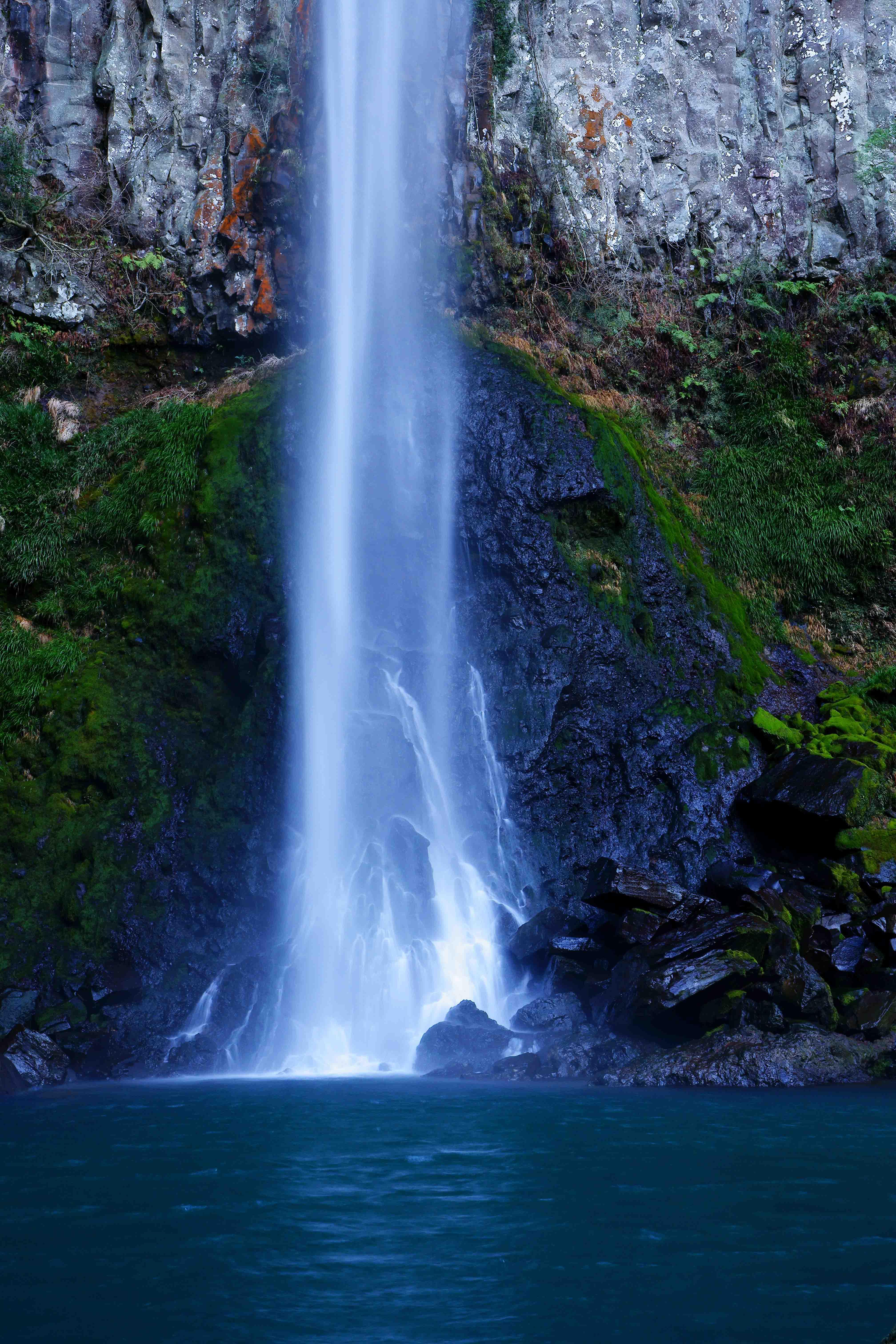 東椎屋の滝を訪ねて:「じぃんず...